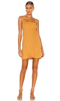 Linen Strappy Dress MONROW $135