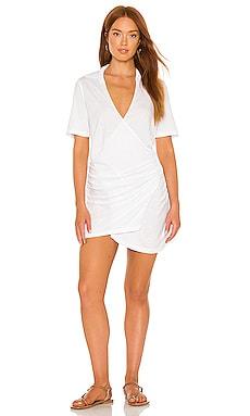 Shirred Waist Shirt Dress MONROW $158