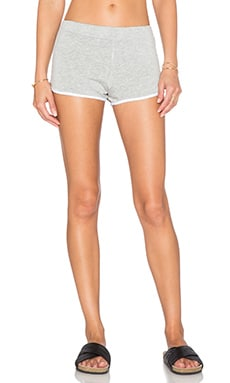 MONROW Super Soft Sport Lounge Short in Heather
