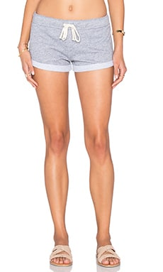 Short con recorte en Heather