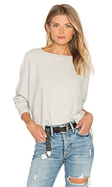 Asymmetric Dolman Sweater in Oat