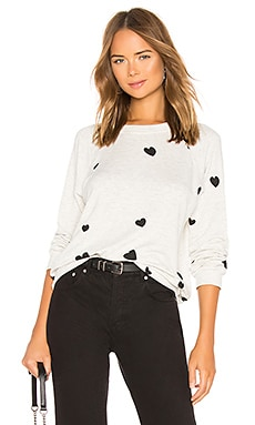 Scattered Hearts Vintage Sweatshirt MONROW $158