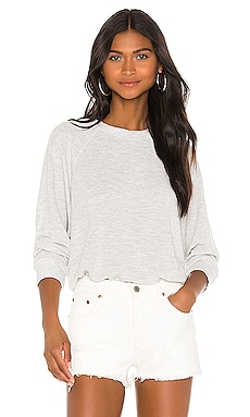 Supersoft Mesh Raglan Sweatshirt MONROW $158
