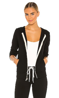 Supersoft Zip Up Hoodie MONROW $135 BEST SELLER