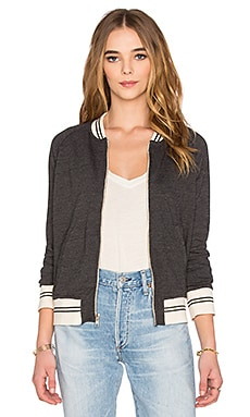 Sporty Bomber in Schwarz