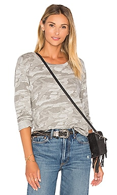 Neutral Camo Crewneck Sweatshirt – 深麻色