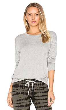 Lounge Sweatshirt en Gris Chiné