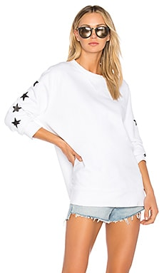 Foil Stars Oversized Sweatshirt MONROW $123 BEST SELLER