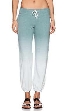 MONROW Ombre Sweatpants in Succulent
