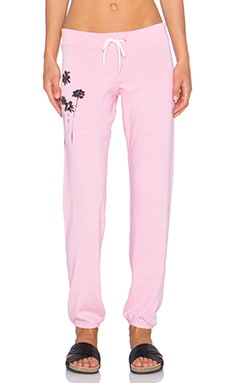 MONROW Sunset Graphic Sweatpant in Pink
