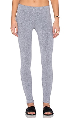 MONROW Sporty Basics Legging in Granite