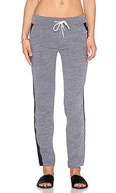 MONROW Track Sweatpant in Dark Heather