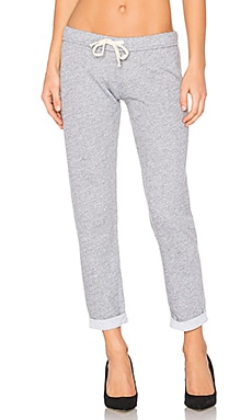Slim Sweatpant in Granite & Dark Heather