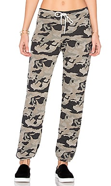 PANTALON DE SURVÊTEMENT VINTAGE CAMOUFLAGE BONE BLUE