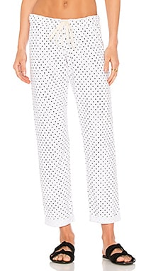 Swiss Dot Boyfriend Sweatpant