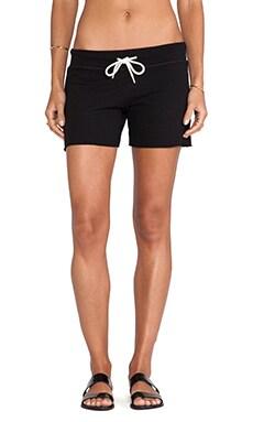 MONROW Vintage Shorts in Black