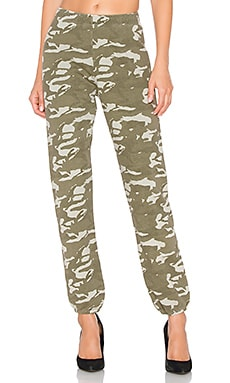 Two Tone Camo High Waisted Sweatpants MONROW $108