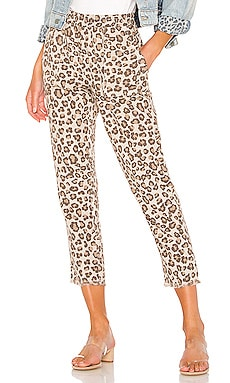 74f74573b2bb Leopard Fray Patch Pockets Pant MONROW $100 ...