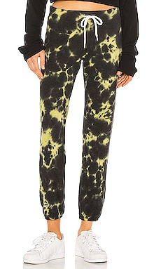 Vintage Sweats With Black Out Tie Dye MONROW $153 BEST SELLER