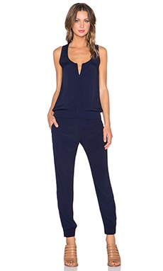 MONROW Jumpsuit in Navy