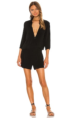 Zip Up Romper MONROW $185 BEST SELLER