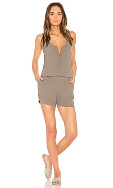 Zip Up Tank Romper