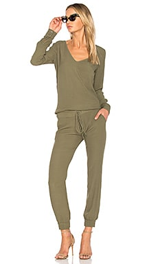 V Neck Long Sleeve Jumpsuit