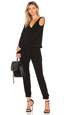 Cutout Shoulder Jumpsuit
