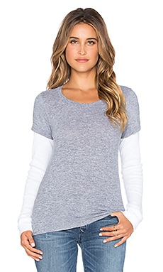Varsity Double Layer Thermal Tee