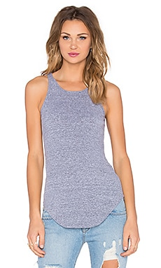 MONROW Rib Tank in Heather Grey