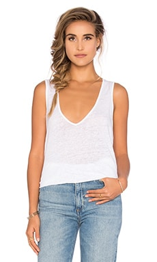 Deep V Tank in White