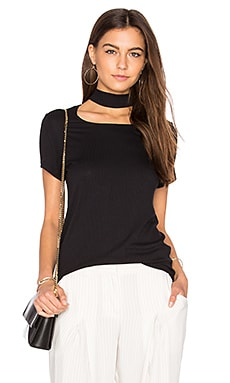 Choker Tee in Black