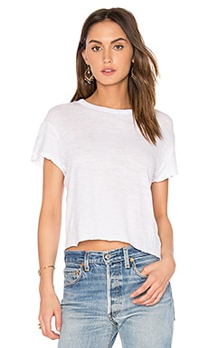 x REVOLVE Crop Tee in White