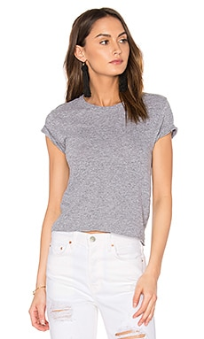 x REVOLVE Crop Tee in Granite