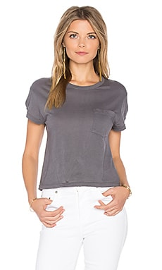 Cropped Pocket Tee