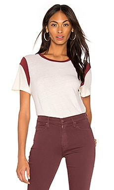 Moto Short Sleeve Top MONROW $122