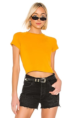 Fitted Cap Sleeve Tee MONROW $25 (FINAL SALE)