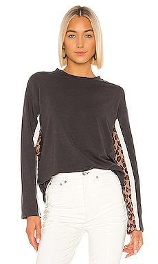 Paneled Long Sleeve Tee MONROW $135