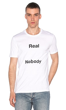 Harmony Real Nobody Tee in White