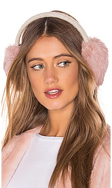 Knit Rabbit Earmuffs Hat Attack $28 (FINAL SALE)