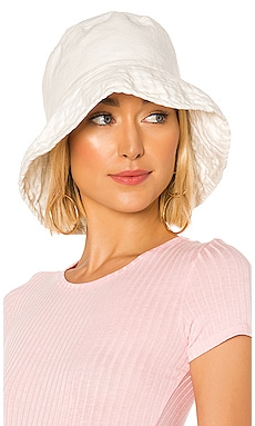 Washed Linen Crusher Hat Hat Attack $55