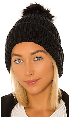Tahoe Faux Fur Pom Beanie Hat Attack $28 (FINAL SALE)