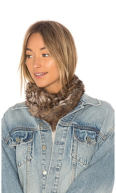 Luxe Rabbit Loop Scarf