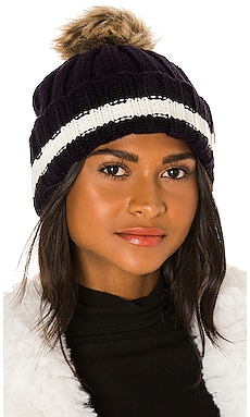 Tipped Edge Faux Fur Beanie Hat Attack $30 (FINAL SALE)