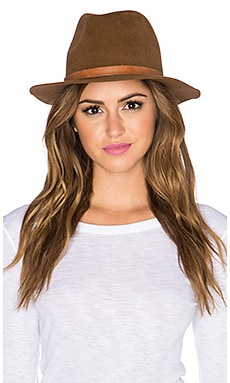 Hat Attack Luxe Classic Hat in Tobacco & Brown Buckle