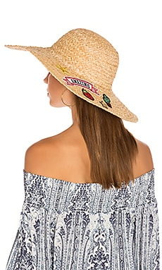 Patch Sunhat in Natural