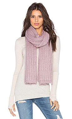 Hat Attack Rib Scarf in Lavender