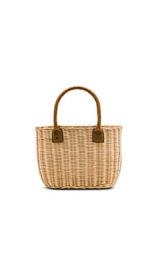 Wicker Small Basket Bag Hat Attack $104