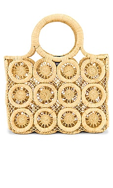 Small Medallion Tote Hat Attack $104 BEST SELLER