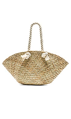 Rope Handle Market Basket Bag Hat Attack $79